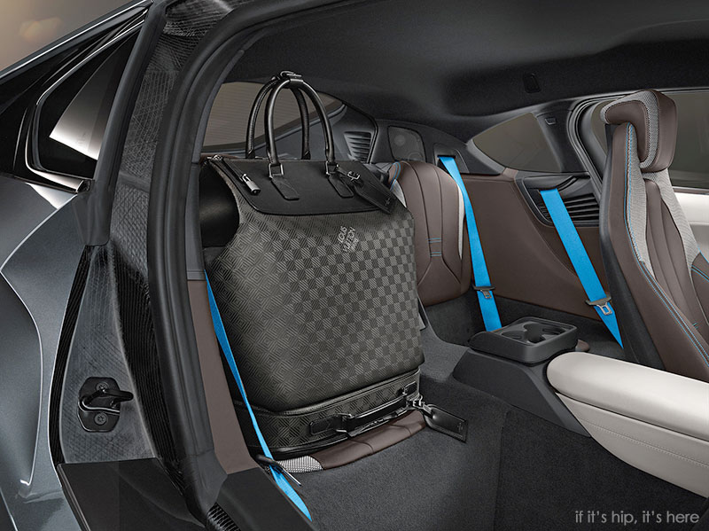 Louis Vuitton Designs Carbon Fiber Luggage For The Revolutionary Bmw