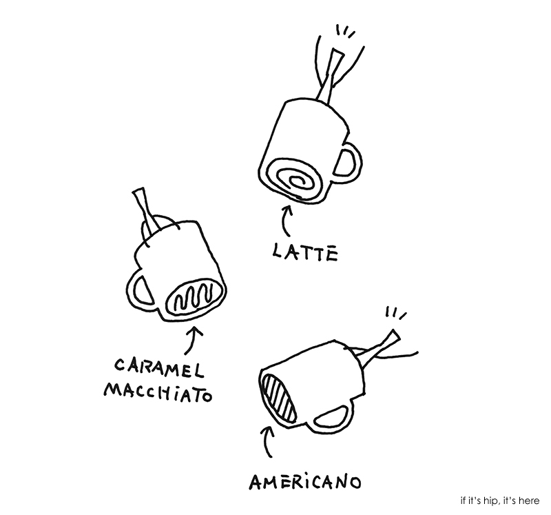 Nendo Designs Coffee Mugs For Starbucks