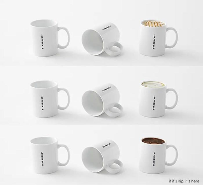 coffee mugs by nendo