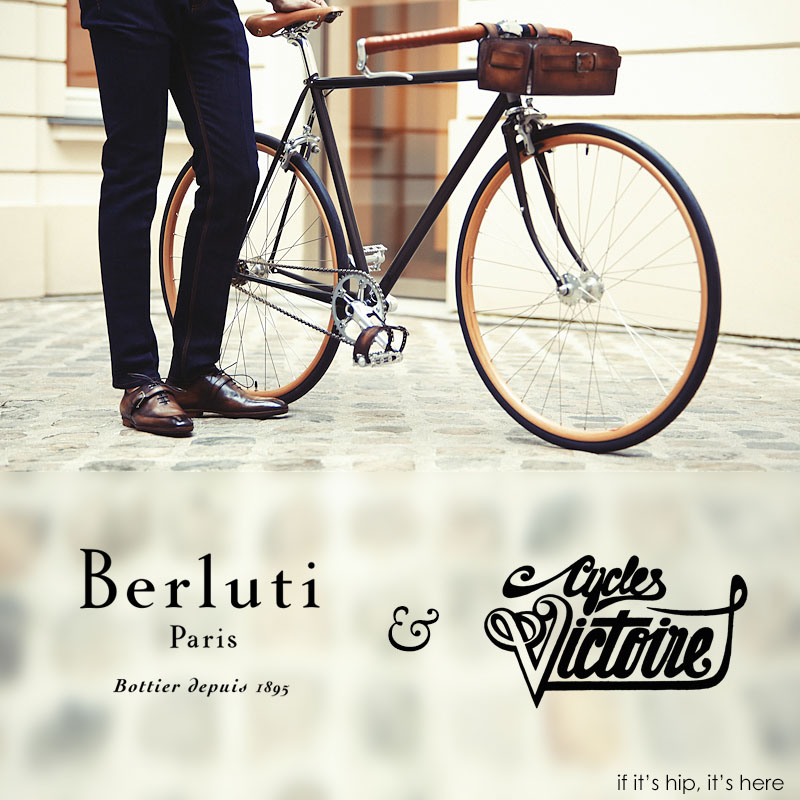 Berluti and Victoire Cycles