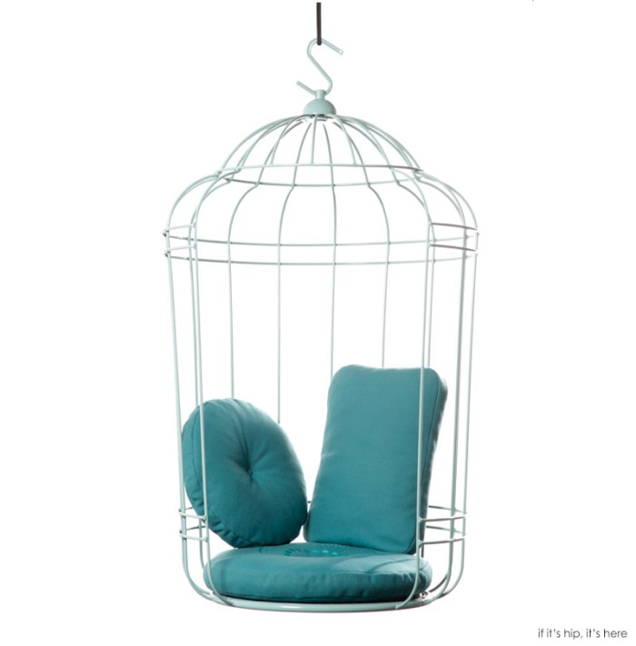 hanging cage chair