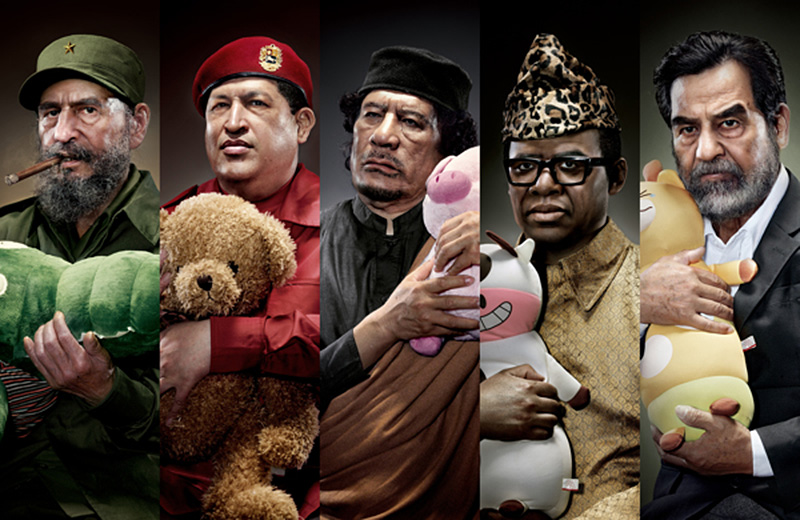 dictators with plushies ganged IIHIH
