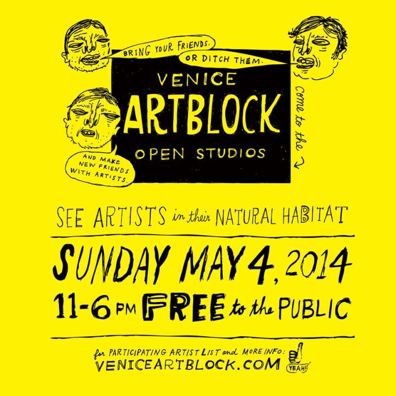 venice artblock show invite