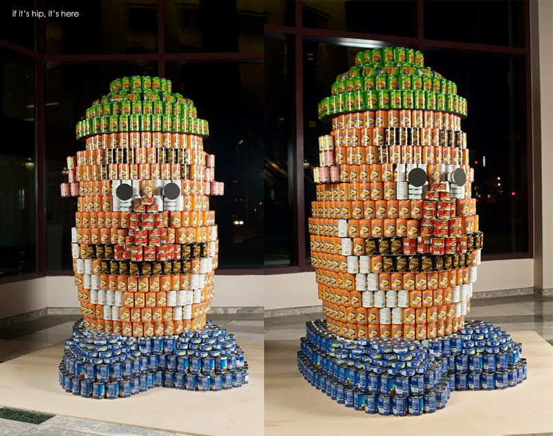 Winners Of The International 2013 2014 Canstruction