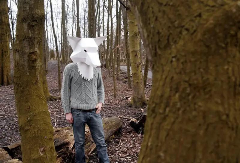 Fox mask 2 IIHIH