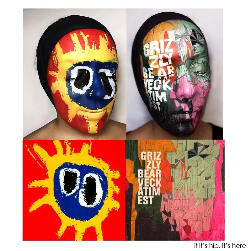 natalie sharp face pain album covers hero IIHIH