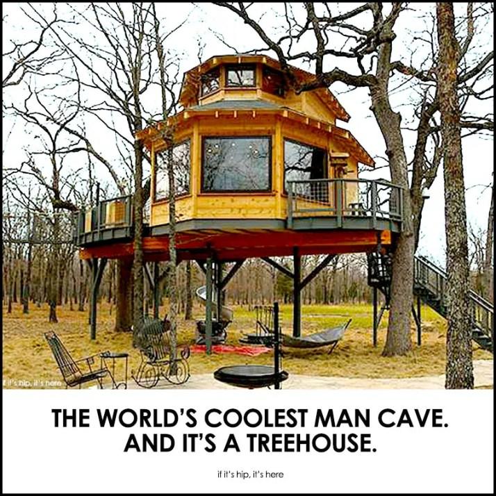 Man Cave Treehouse