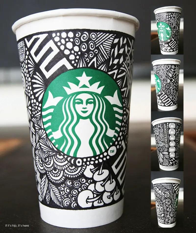 Starbucks White Cup Winning Design hero IIHIH