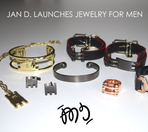 Read more about the article Hip and Hand-Forged, Jan D Launches Jewelry For Men.