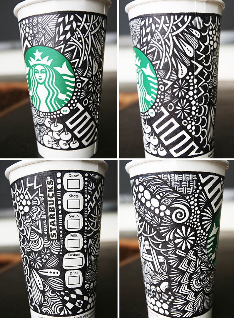 stacked winning design starbucks cups IIHIH