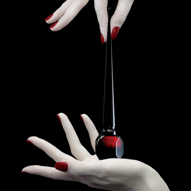 Louboutin Nail Lacquer In High Heel Inspired Bottle With Wacky Ad By David Lynch If It S Hip