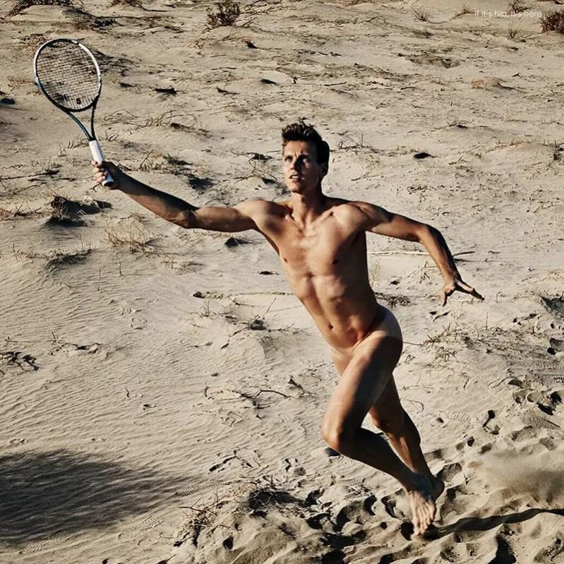 Tennis Player Tomas Berdych by Max Vadukul IIHIH