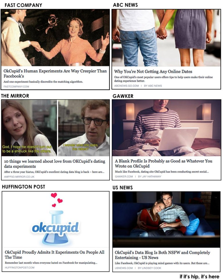media shilling Ok Cupid story hero IIHIH
