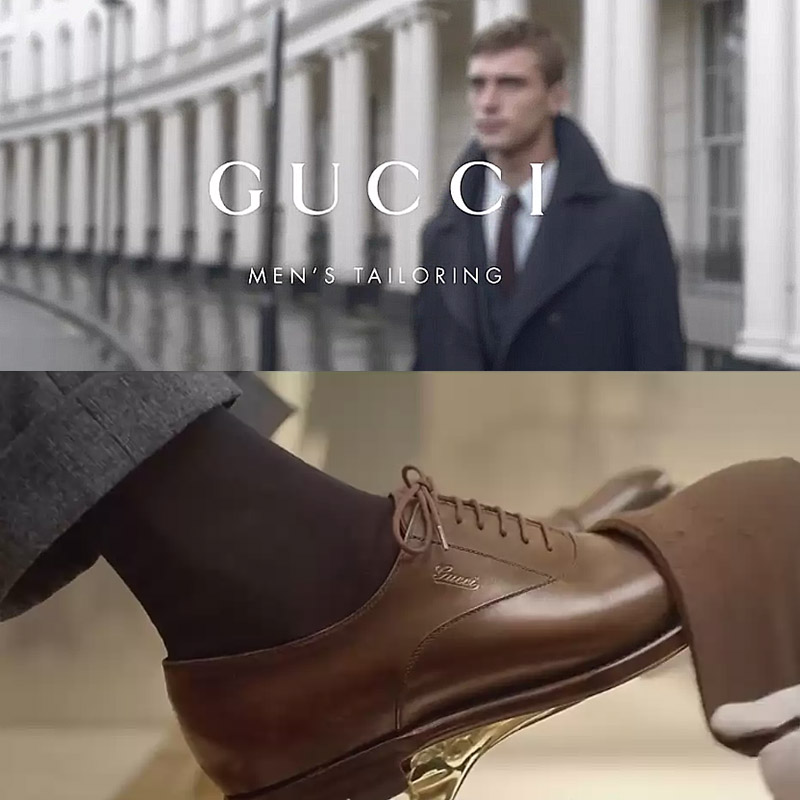 Director's Cut of Gucci Men's Tailoring