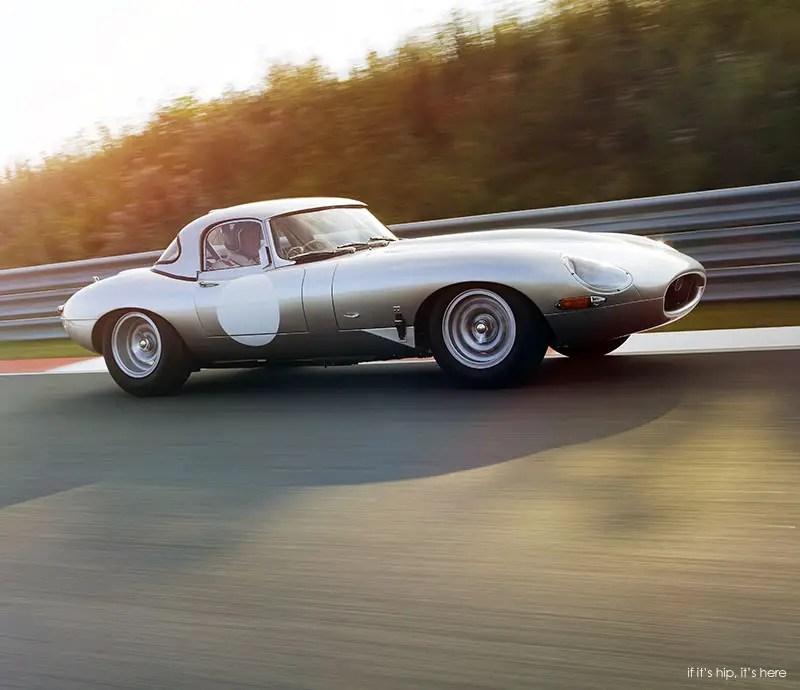 The New Jaguar: Jaguar Reveals The 'New' Lightweight E-Type, 6 Cars Hand