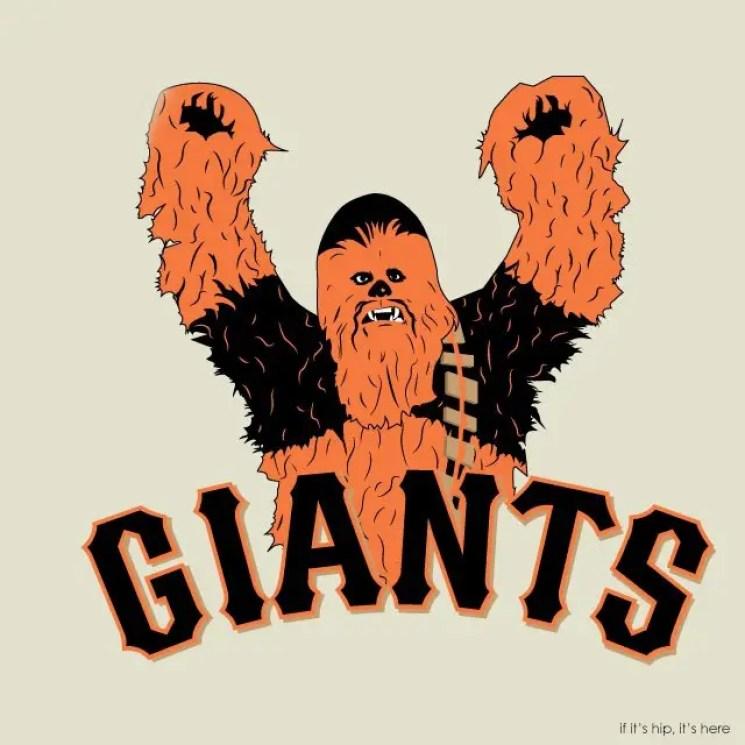 MLB x StarWars  SF Wookiee Giants IIHIH