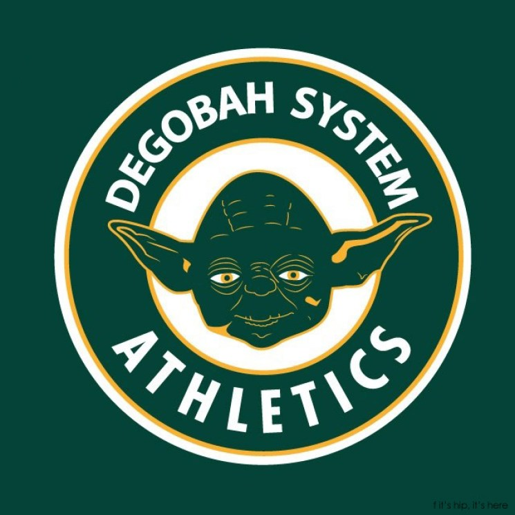 MLB x StarWars series -  Degobah System Athletics IIHIH