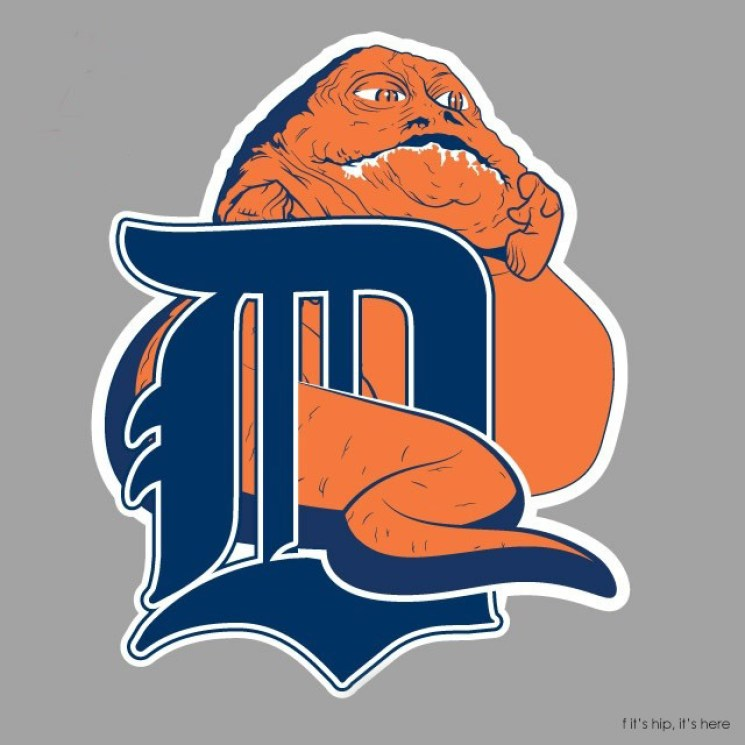 MLB x StarWars series - Detroit Jabba the Hutts IIHIH