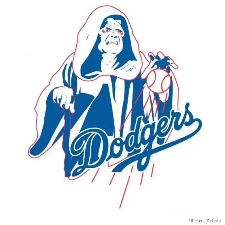 MLB x StarWars series The LA Emperor Dodgers IIHIH