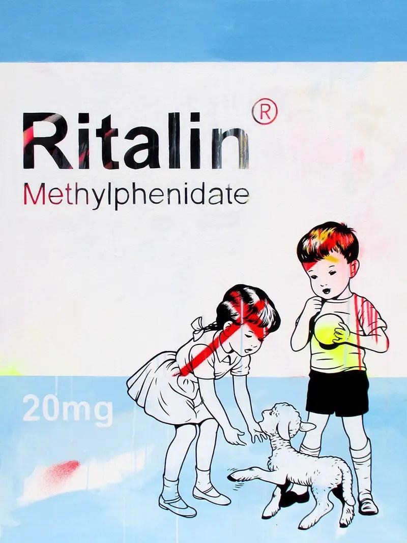 Ritalin ben frost full size painting IIHIH