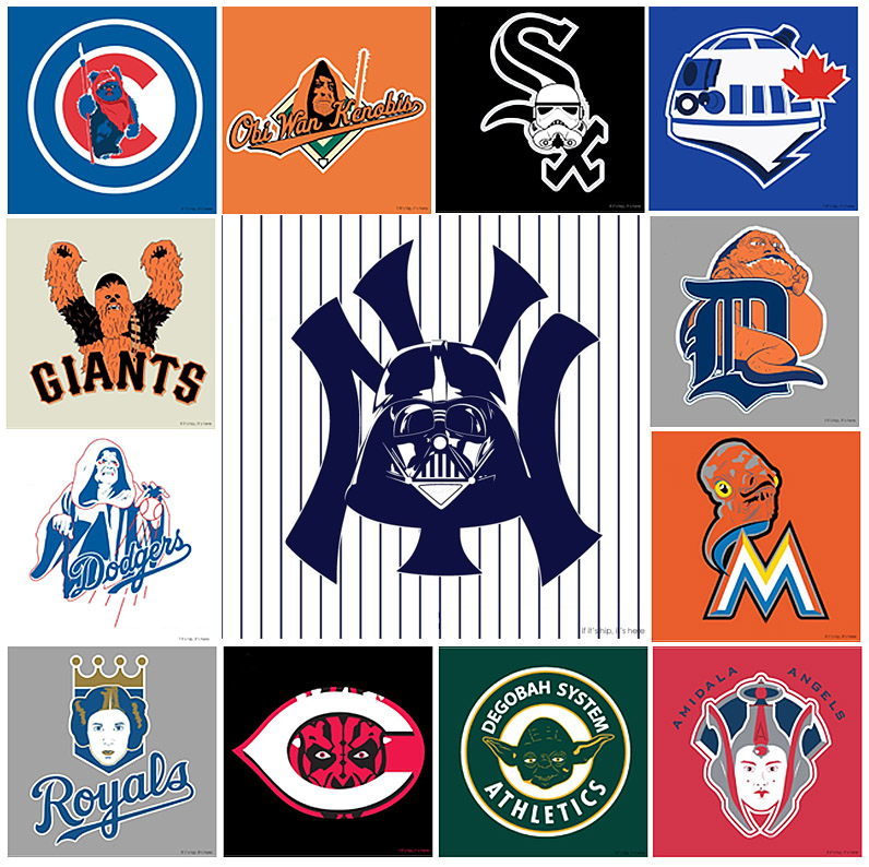 Star Wars x MLB Logos hero IIHIH