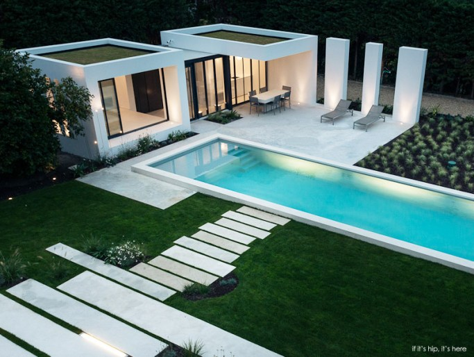 Modern pool House in Basque Country