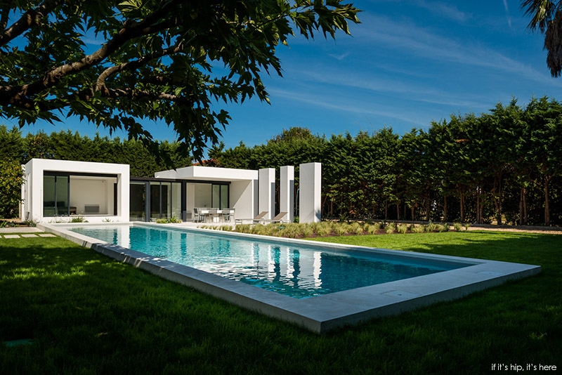Modern Pool House In Basque Country By Atelier Dc And