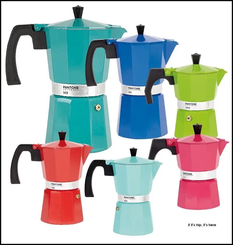 Pantone Universe Coffee Pots