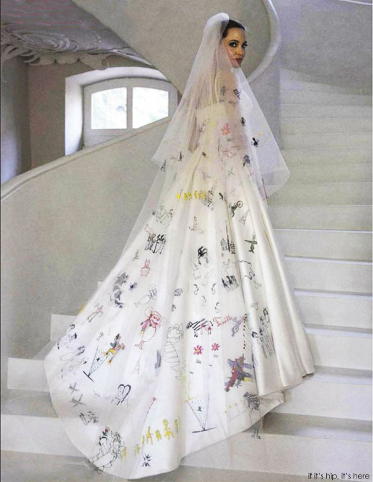 full Angelina jolie wedding gown pic IIHIH