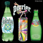 The Perrier Street Art Limited Edition Collection of Bottles and Cans.