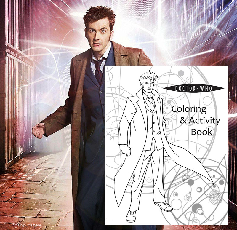 Microsoft PowerPoint - Doctor Who Coloring Book