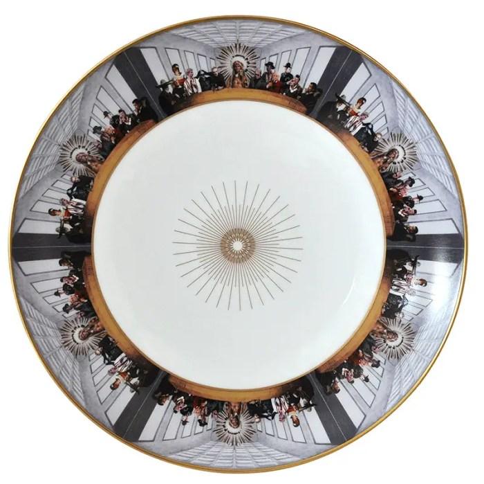 Indian Chief bernardaud plate 800px