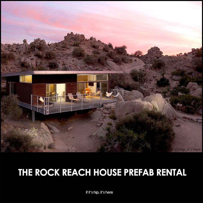 ROCK REACH HOUSE in Joshua Tree