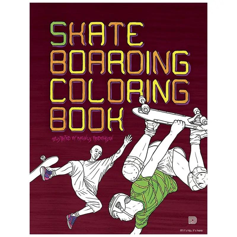 Skateboard Coloring Book IIHIH