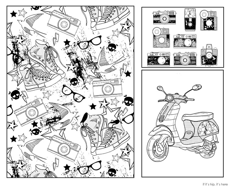 The hipster coloring book2 IIHIH