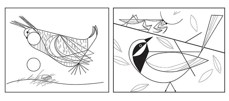 charley harper birds IIHIH