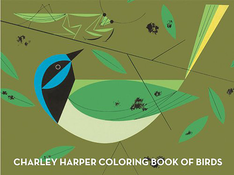 charley harper coloring book of birds1