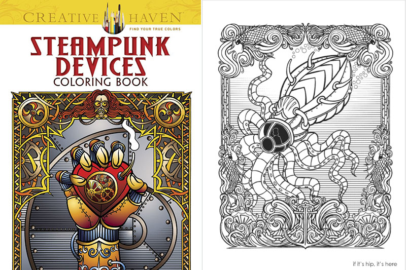 steampunk devices coloring book IIHIH