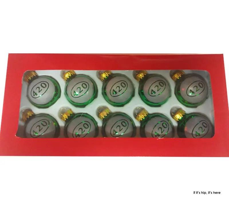 420 christmas balls by original oregon IIHIH