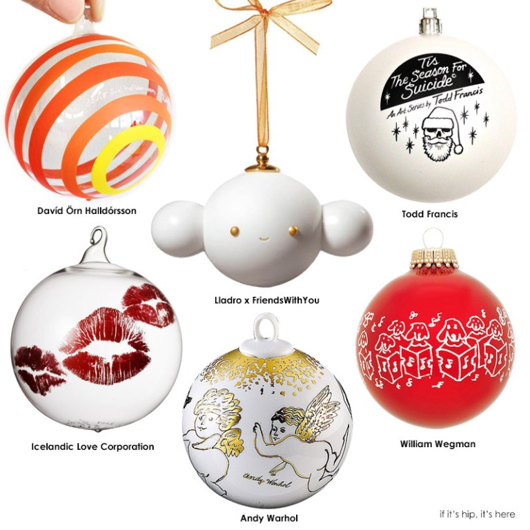Limited Edition Luxury Christmas Ornaments: 37 Limited Edition Artist Christmas Ornaments Turn Your