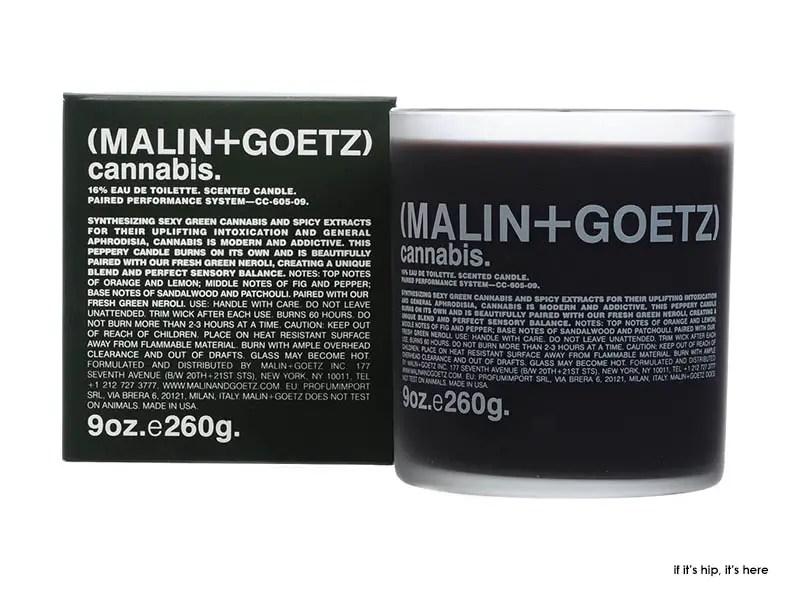 Malin + Goetz cannabis candle 9oz IIHIH