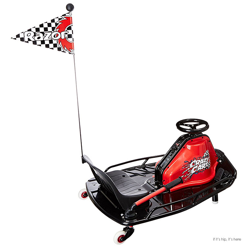 The Toy That Will Move Fast This Holiday Literally And Figuratively The New Crazy Cart If It S Hip It S Here
