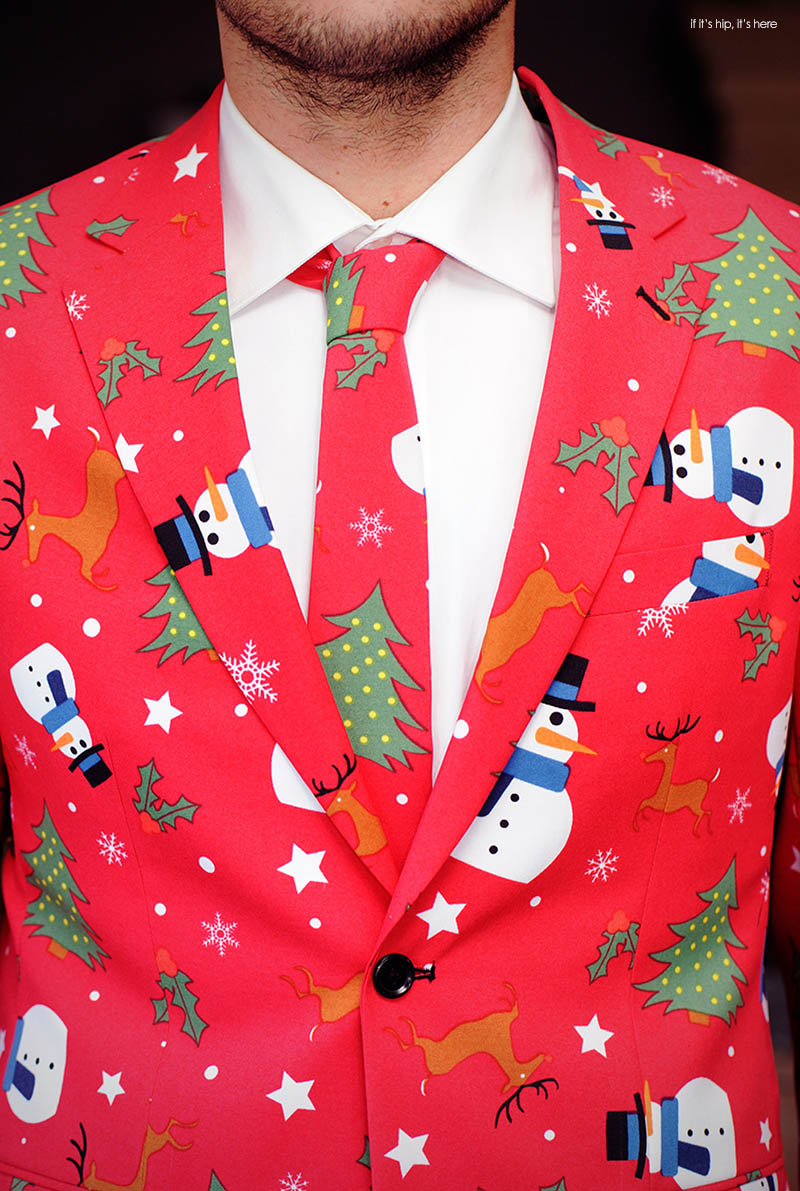 These Ugly Christmas Suits Are Fabulously Festive If It
