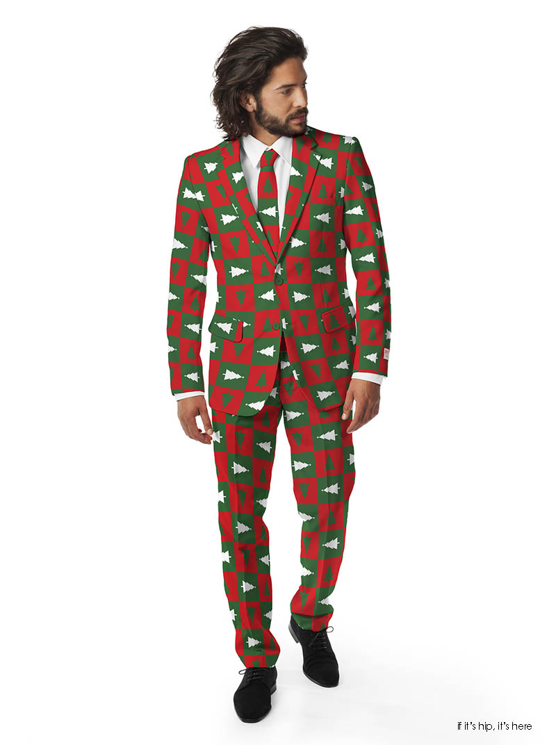 Christmas sweater suit