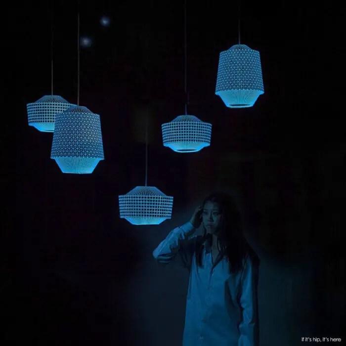 Loena-Lanterncollection at night IIHIH
