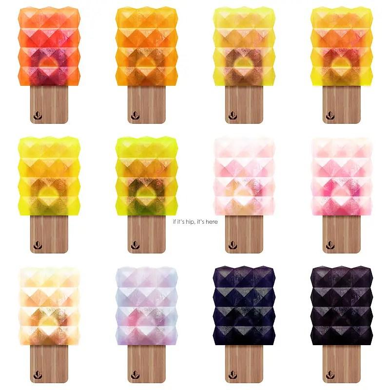Nuna popsicle flavors