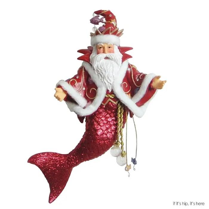 Santa merman