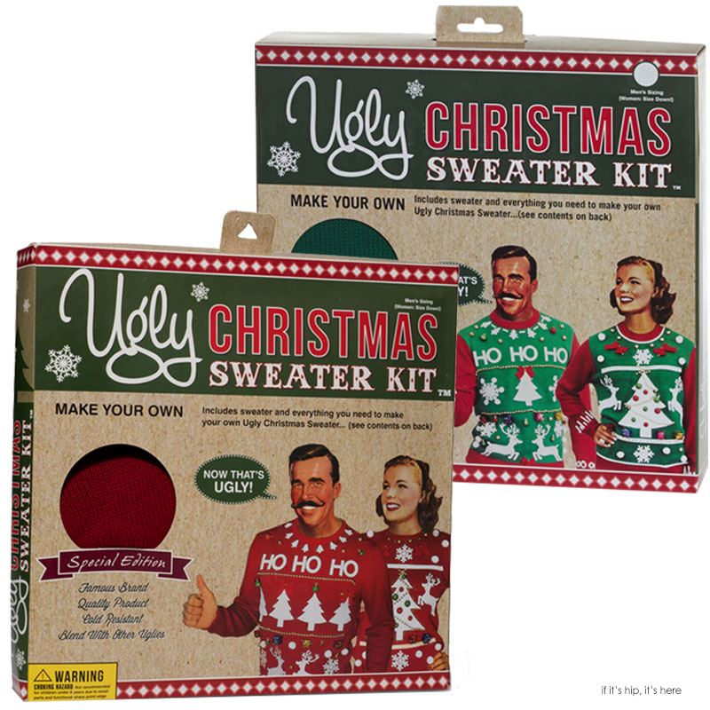 The Ugly Christmas Sweater Kit Is The Ultimate Diy Project For The