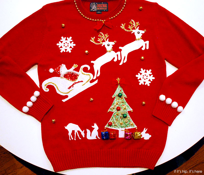 Ugly Christmas sweater by laura 800px