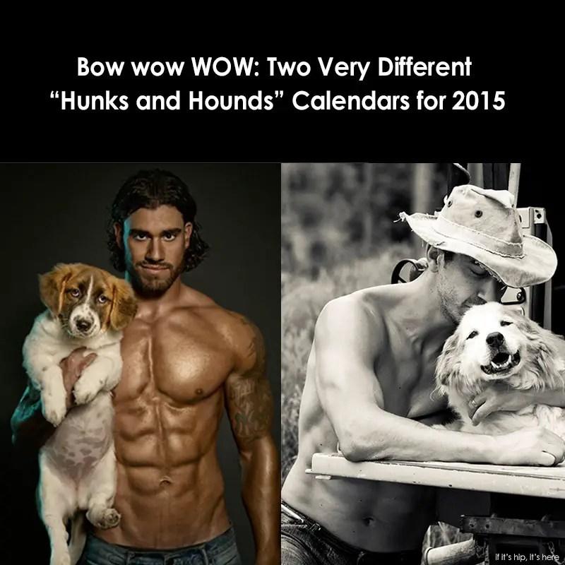 hunks and hounds calendars compare IIHIH